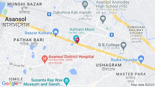 OYO 28631 Hotel Parbati International Map