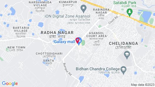 Hotel Ispat International Map