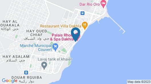 Bab Al Bahar Hotel & Spa Map