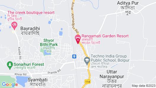 OYO 24781 Rangamati Garden Resort Map