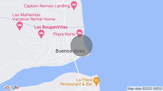 Casa de Las Palmas . . . like your own beachfront estate on the Sea of Cortez! Map