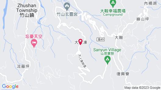 Shen Shan Lin Nai B&B Map