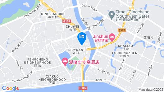 Jinjiang Inn Qingyuan Shiqiao Road North Map