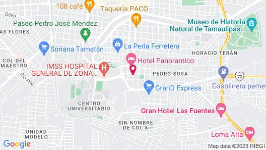 Villas del Santuario by Hotel Panoramico Map