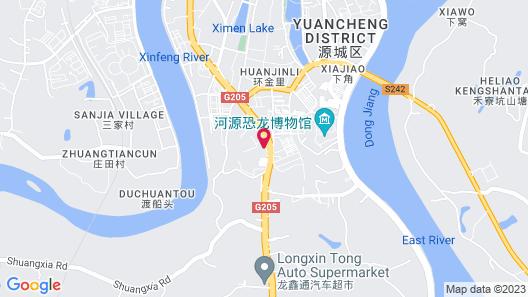 Four Points By Sheraton Heyuan Resort Map
