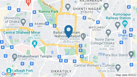 Asia Hotel & Resorts Map