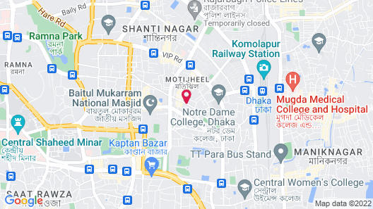 Hotel As Shams international Map