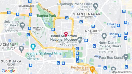 Royal Inn Dhaka Map