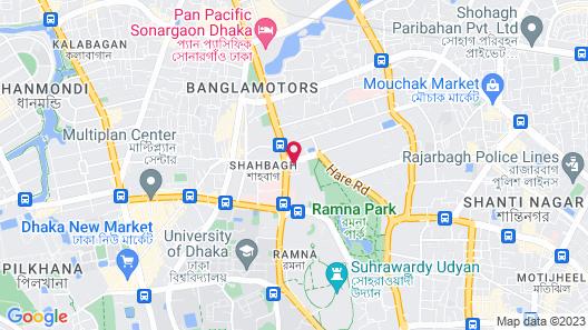 InterContinental Dhaka Map