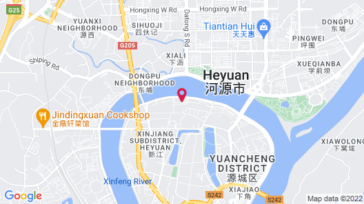 Heyuan Kaili International Hotel Map