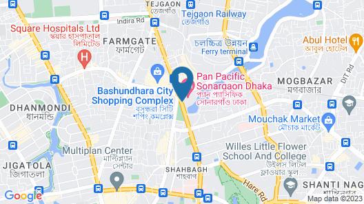 Pan Pacific Sonargaon Dhaka Map