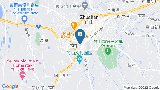 All-Ur Boutique Motel - Jhu-Shan Branch Map
