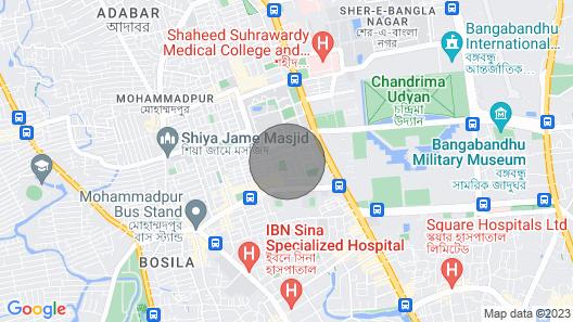 Iqbal Road, Mohammadpur, Dhaka, Bangladesh. Map