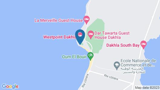 West Point Dakhla Map