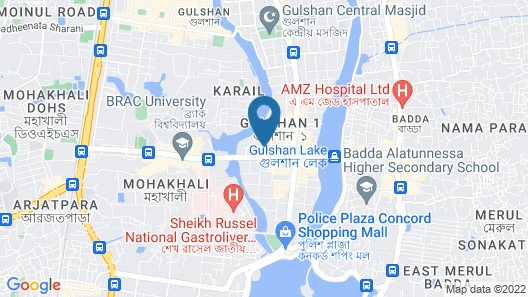 Hotel Bengal Canary Park Map