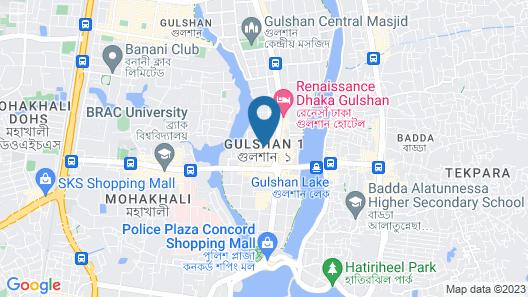Rafflesia Serviced Apartments Map