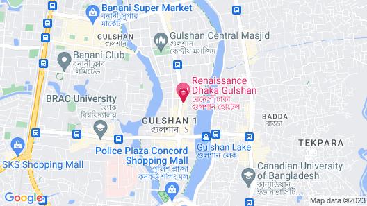 Renaissance Dhaka Gulshan Hotel Map