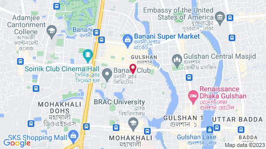 Golden Tulip - The GrandMark Dhaka Map