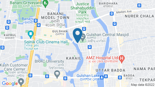 Hotel Golden Deer( Lake View) Map