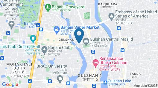 Amari Dhaka Map