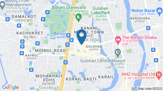 Hotel Sarina Map