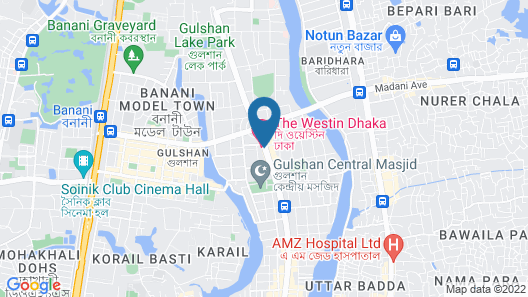 The Westin Dhaka Map
