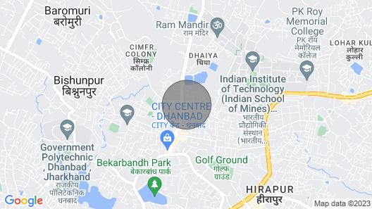 Dhanbad Suite Room 1 Map