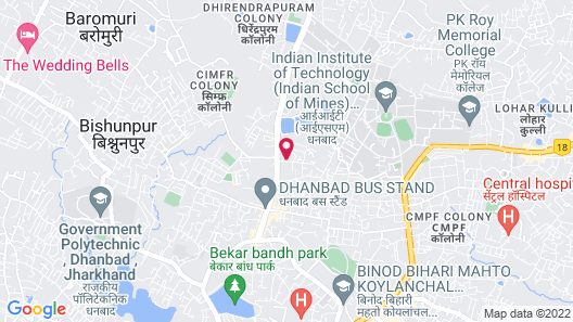 Dhanbad Suite Room 2 Map