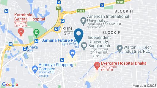 Furnished Flat In Block C Bashundhara RA Map