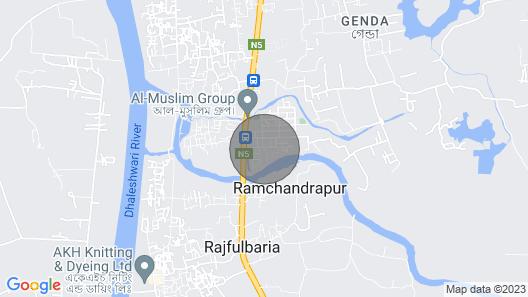 Quiet & Clean 1bedroom Condo in Amazing City Savar Map