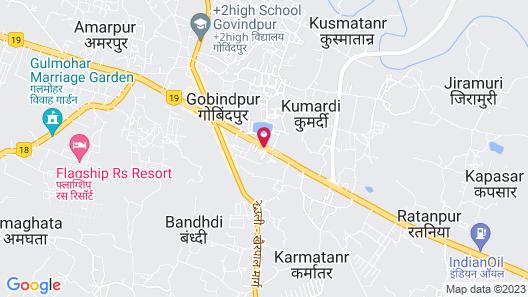 Hotel Madhuvan Map