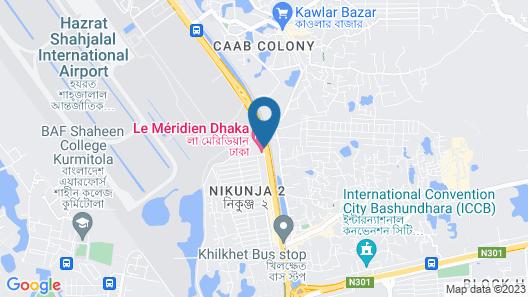 Le Meridien Dhaka Map