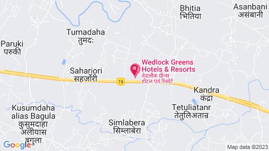 Wedlock Greens Hotels & Resorts Map