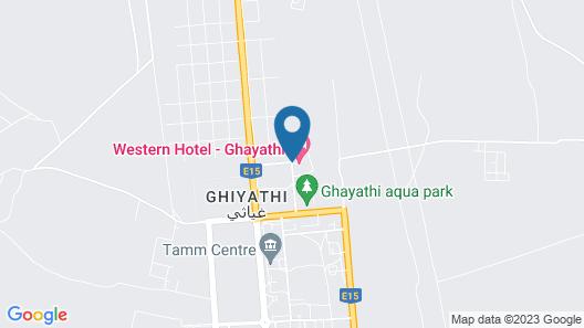 Western Hotel - Ghayathi Map
