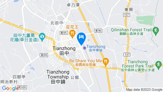 Tian Zhong Hotel Map