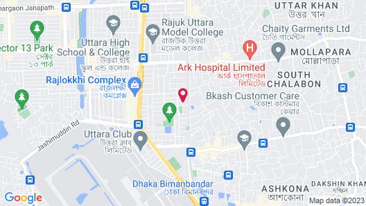 Monsoon Inn Map