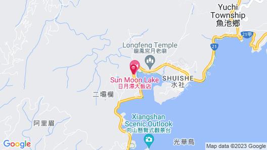 Sun Moon Lake Hotel Map