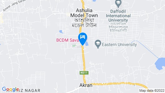 BRAC-CDM Savar Map