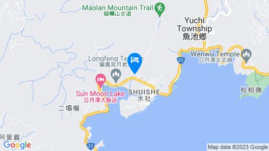 Sun Moon Lake Fuli Hot Spring Resort Map