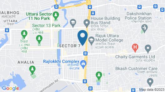Uttara Suite At Dhaka Map