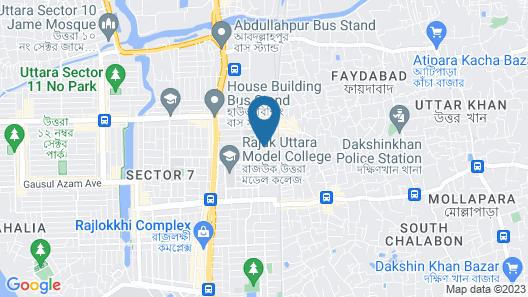 Impiana Hotel Ltd. Map
