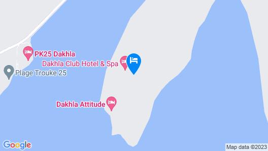 Dakhla Club Hotel & Spa Map
