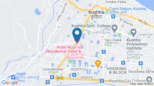HOTEL NOOR INTERNATIONAL Map