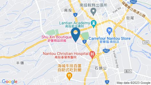 Shu Lan Motel Map