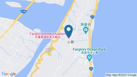 Farglory Hotel Hualien Map