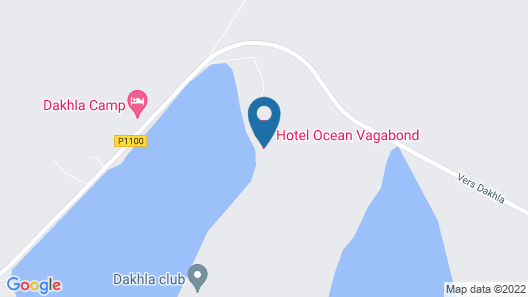 Zenith Dakhla Kite Resort Map