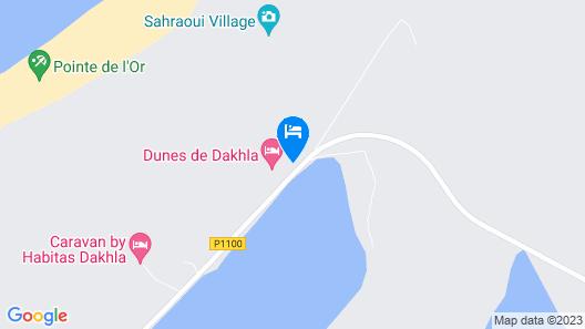 Dakhla For Stars Map