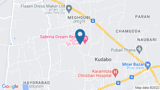 Sabrina Dream Resort Map