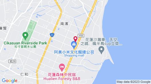 Sakura B&B Map