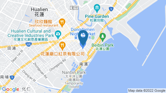 Hotel Les Champs Hualien Map